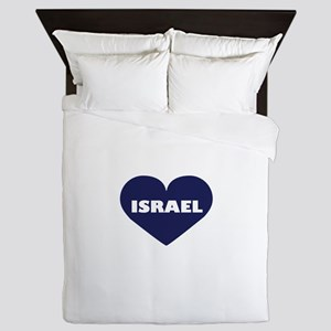 I Love Israel Queen Duvet